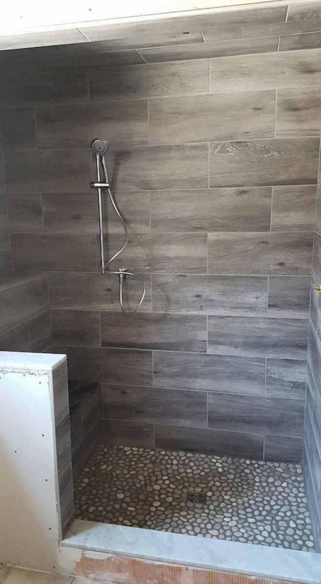 40 Beautiful Bathroom Shower Tile Design Ideas and Makeover (9)