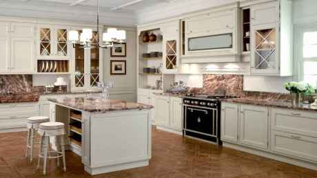 45 Modern Farmhouse Kitchen Cabinets Decor Ideas and Makeover (11)