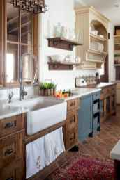45 Modern Farmhouse Kitchen Cabinets Decor Ideas and Makeover (12)