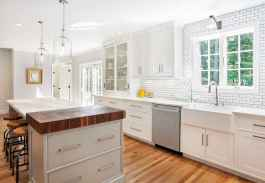 45 Modern Farmhouse Kitchen Cabinets Decor Ideas and Makeover (28)