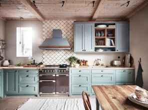 45 Modern Farmhouse Kitchen Cabinets Decor Ideas and Makeover (34)