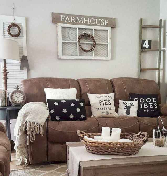 50 Best Rustic Apartment Living Room Decor Ideas and Makeover (49)