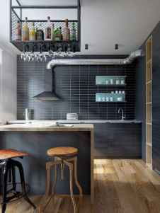 50 Cool Apartment Kitchen Rental Decor Ideas and Makeover (11)