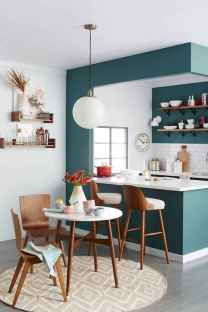 50 Cool Apartment Kitchen Rental Decor Ideas and Makeover (24)