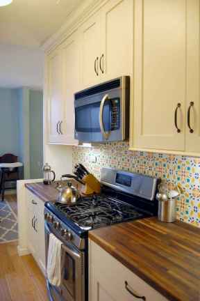50 Cool Apartment Kitchen Rental Decor Ideas and Makeover (3)
