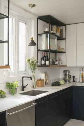 50 Cool Apartment Kitchen Rental Decor Ideas and Makeover (32)