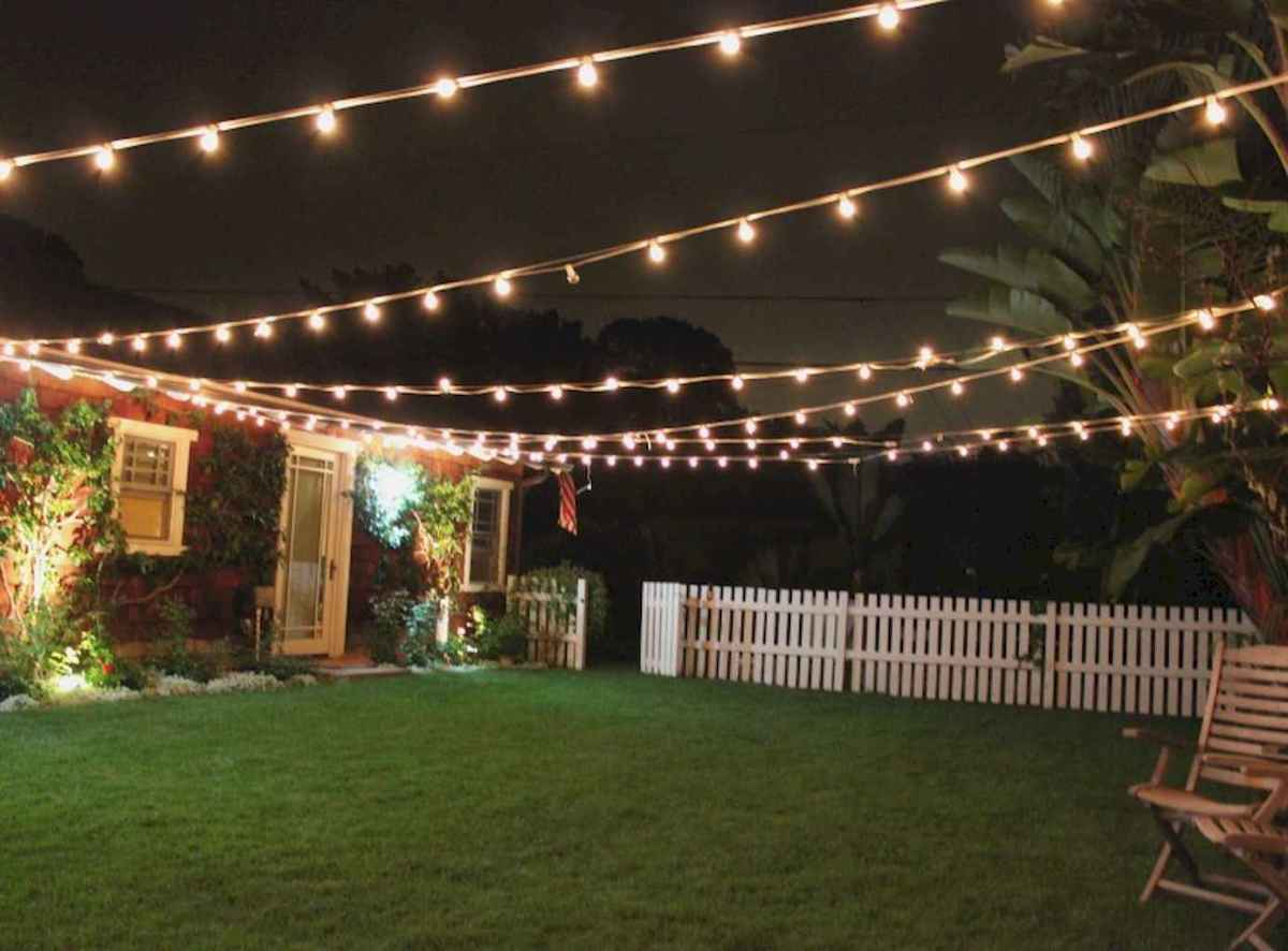 55 Beautiful Backyard Lighting Decor Ideas and Remodel (18)