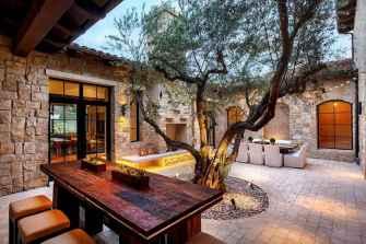 55 Beautiful Backyard Lighting Decor Ideas and Remodel (24)