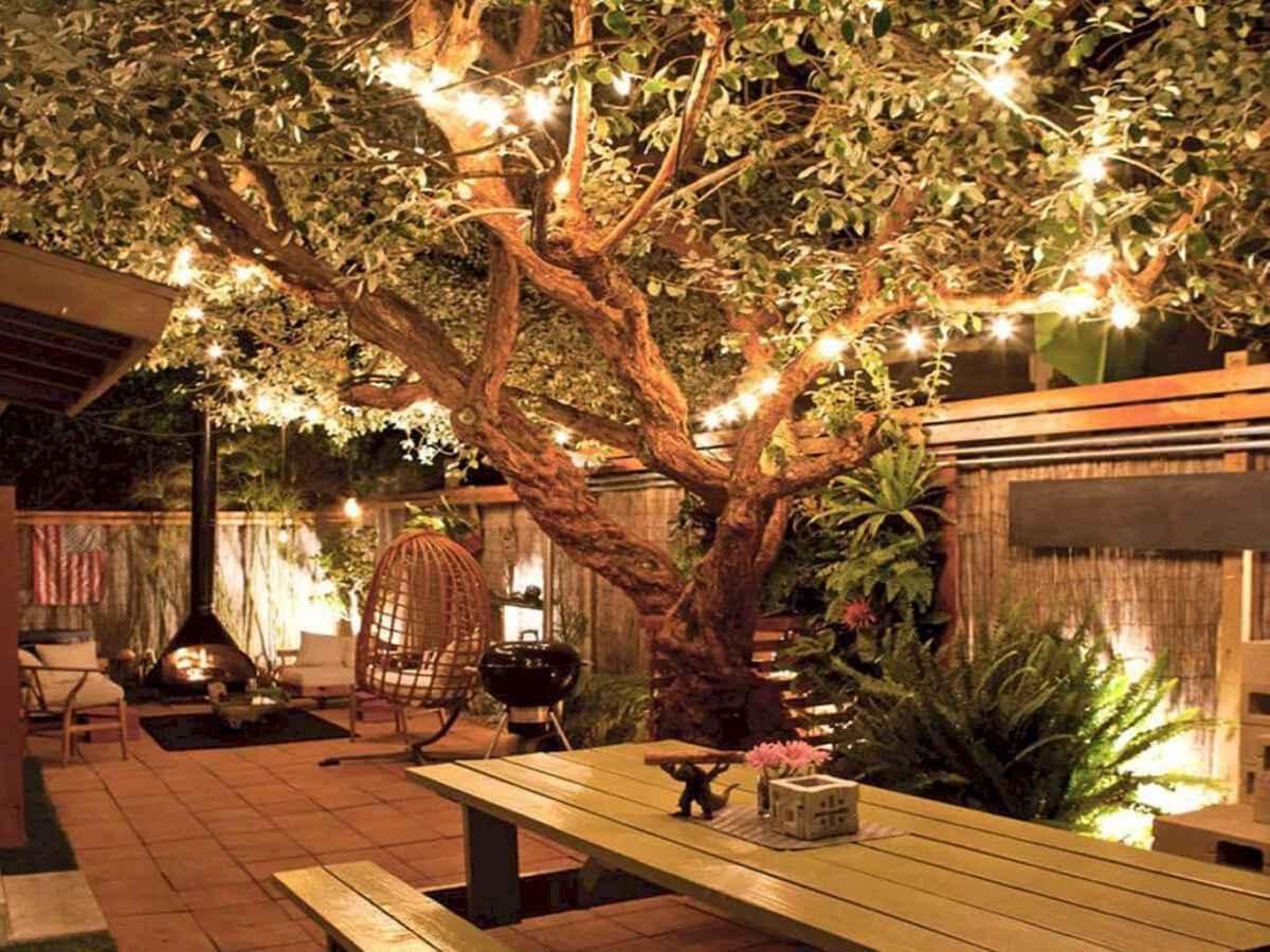 55 Beautiful Backyard Lighting Decor Ideas and Remodel (25)