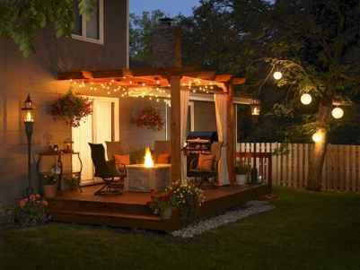 55 Beautiful Backyard Lighting Decor Ideas and Remodel (42)