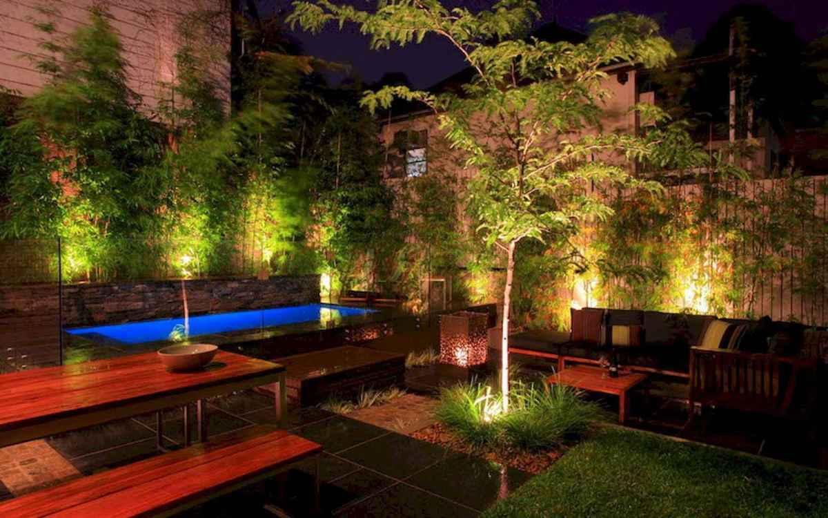 55 Beautiful Backyard Lighting Decor Ideas and Remodel (44)