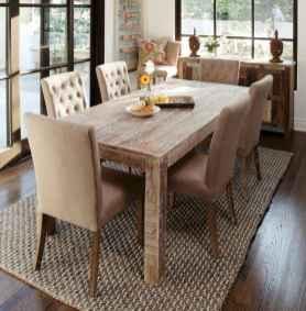 60 Brilliant Farmhouse Kitchen Table Design Ideas and Makeover (11)