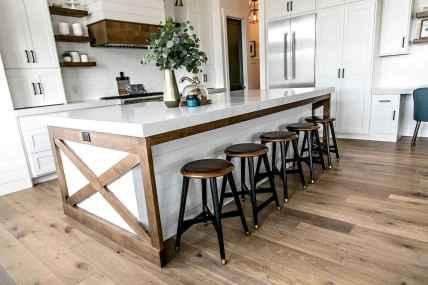 60 Brilliant Farmhouse Kitchen Table Design Ideas and Makeover (45)