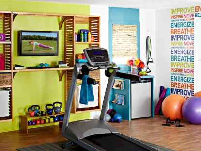 60 Cool Home Gym Ideas Decoration on a Budget for Small Room (11)