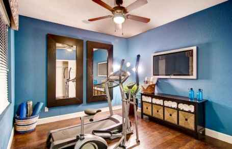 60 Cool Home Gym Ideas Decoration on a Budget for Small Room (20)