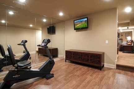 60 Cool Home Gym Ideas Decoration on a Budget for Small Room (48)