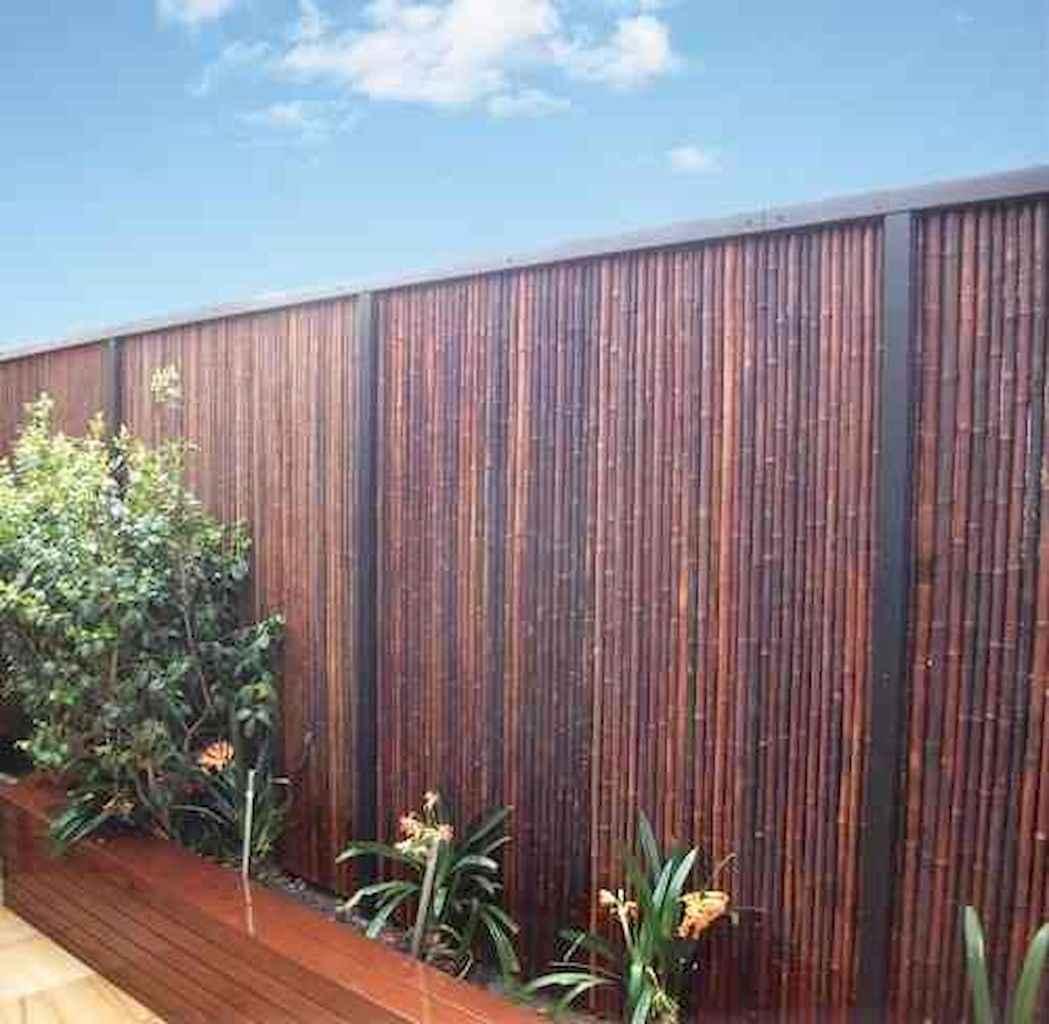 70 Gorgeous Backyard Privacy Fence Decor Ideas on A Budget (29)