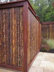 70 Gorgeous Backyard Privacy Fence Decor Ideas on A Budget (3)