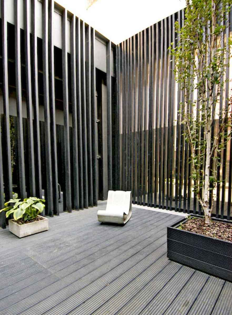 70 Gorgeous Backyard Privacy Fence Decor Ideas on A Budget (67)