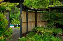 70 Gorgeous Backyard Privacy Fence Decor Ideas on A Budget (72)