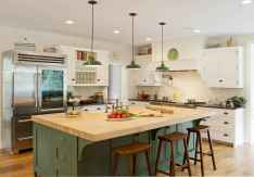 80 Modern Farmhouse Kitchen Lighting Decor Ideas and Remodel (32)