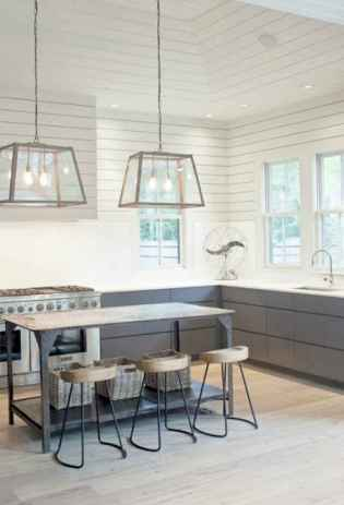 80 Modern Farmhouse Kitchen Lighting Decor Ideas and Remodel (47)