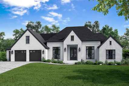 90 Awesome Modern Farmhouse Plans Design Ideas and Remodel (24)