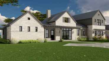 90 Awesome Modern Farmhouse Plans Design Ideas and Remodel (46)