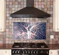100 Stunning Kitchen Backsplash Decorating Ideas and Remodel (54)