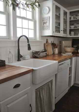70 Pretty Kitchen Sink Decor Ideas and Remodel (35)