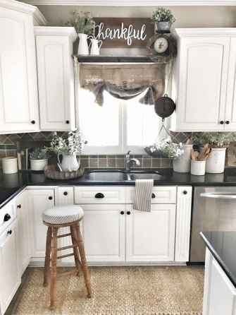70 Pretty Kitchen Sink Decor Ideas and Remodel (49)