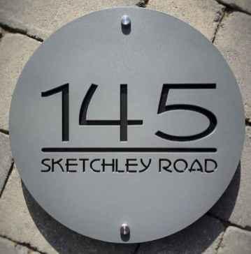 Best 90 Number Sign Home Design Ideas on A Budget (1)
