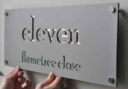 Best 90 Number Sign Home Design Ideas on A Budget (23)