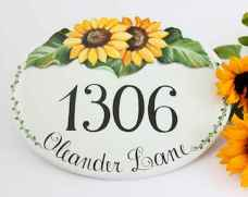 Best 90 Number Sign Home Design Ideas on A Budget (41)