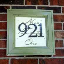 Best 90 Number Sign Home Design Ideas on A Budget (64)