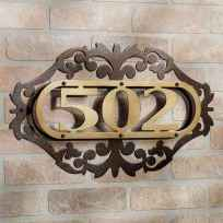 Best 90 Number Sign Home Design Ideas on A Budget (65)