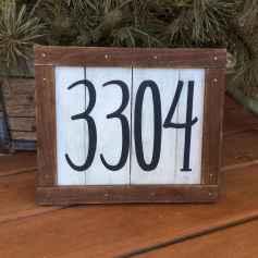 Best 90 Number Sign Home Design Ideas on A Budget (78)