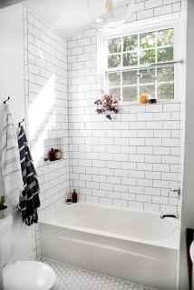 100 Farmhouse Bathroom Tile Shower Decor Ideas And Remodel To Inspiring Your Bathroom (102)