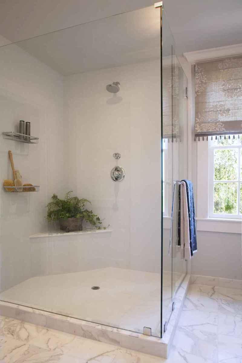 100 Farmhouse Bathroom Tile Shower Decor Ideas And Remodel To Inspiring Your Bathroom (16)
