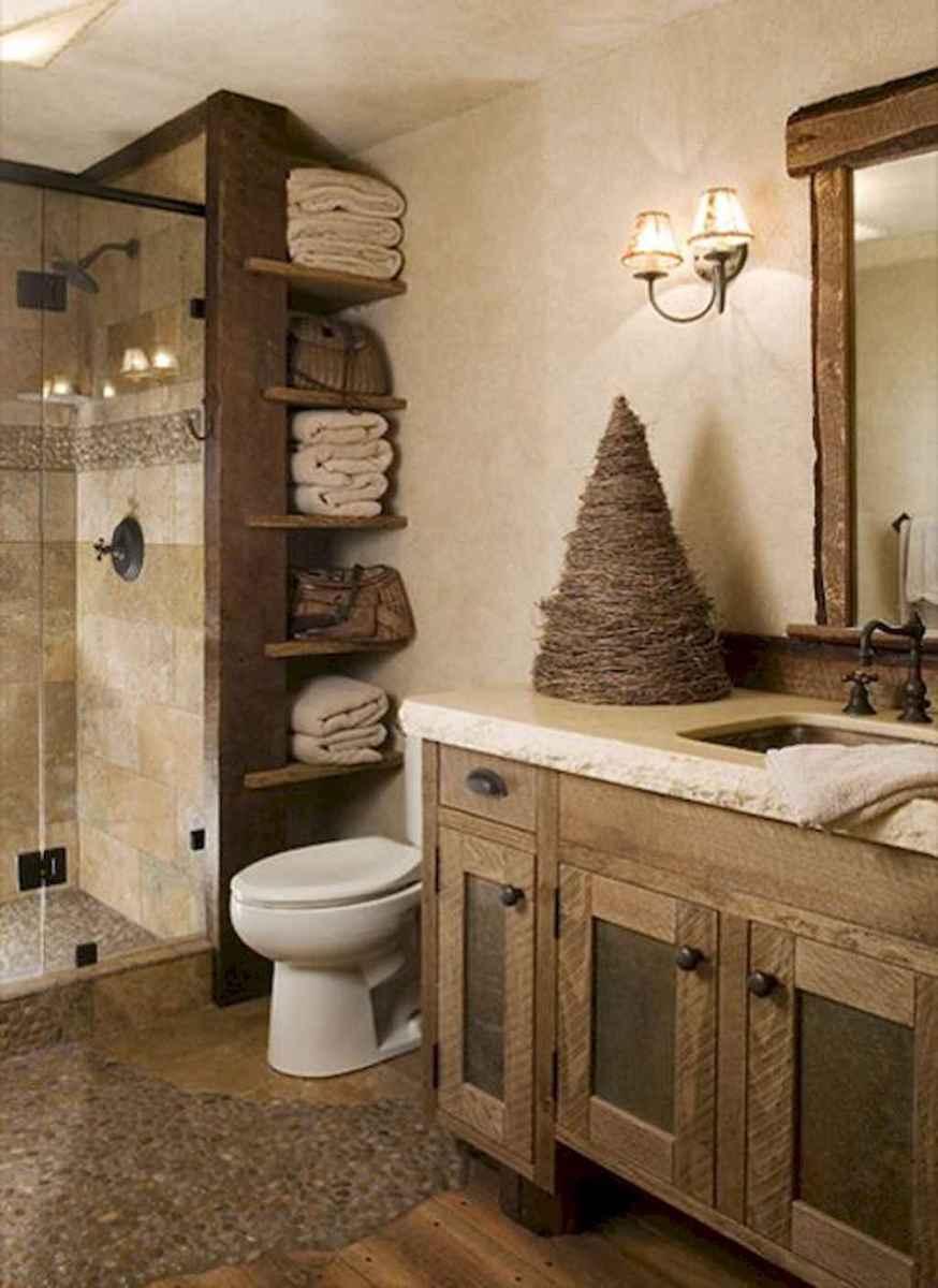 100 Farmhouse Bathroom Tile Shower Decor Ideas And Remodel To Inspiring Your Bathroom (20)