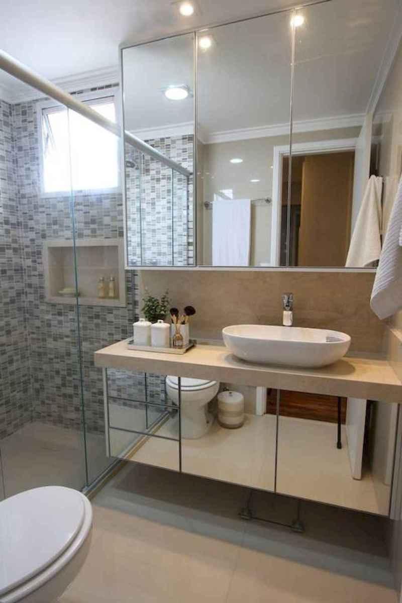 100 Farmhouse Bathroom Tile Shower Decor Ideas And Remodel To Inspiring Your Bathroom (37)