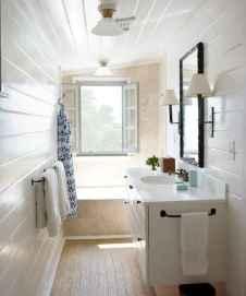 100 Farmhouse Bathroom Tile Shower Decor Ideas And Remodel To Inspiring Your Bathroom (87)