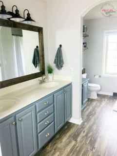 120 Modern Farmhouse Bathroom Design Ideas And Remodel (107)