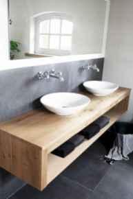 120 Modern Farmhouse Bathroom Design Ideas And Remodel (16)