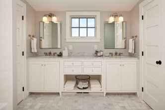120 Modern Farmhouse Bathroom Design Ideas And Remodel (45)