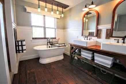 150 Amazing Small Farmhouse Bathroom Decor Ideas And Remoddel (112)