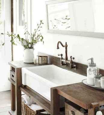 150 Amazing Small Farmhouse Bathroom Decor Ideas And Remoddel (133)