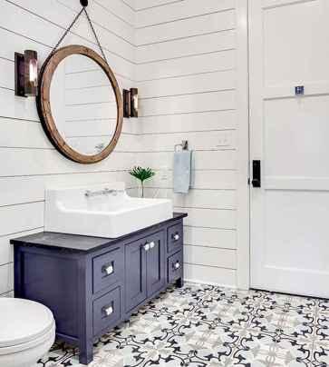 150 Amazing Small Farmhouse Bathroom Decor Ideas And Remoddel (31)
