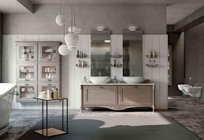 150 Amazing Small Farmhouse Bathroom Decor Ideas And Remoddel (49)