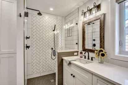 150 Amazing Small Farmhouse Bathroom Decor Ideas And Remoddel (53)